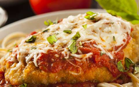 Wednesday Special Chicken Parmigiana