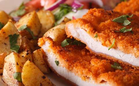 Monday Special Chicken Schnitzel